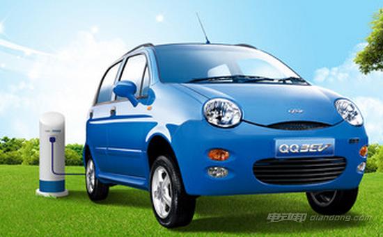奇瑞QQ3EV电动汽车外不美观