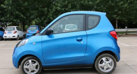 知豆D1电动汽车价格及图片
