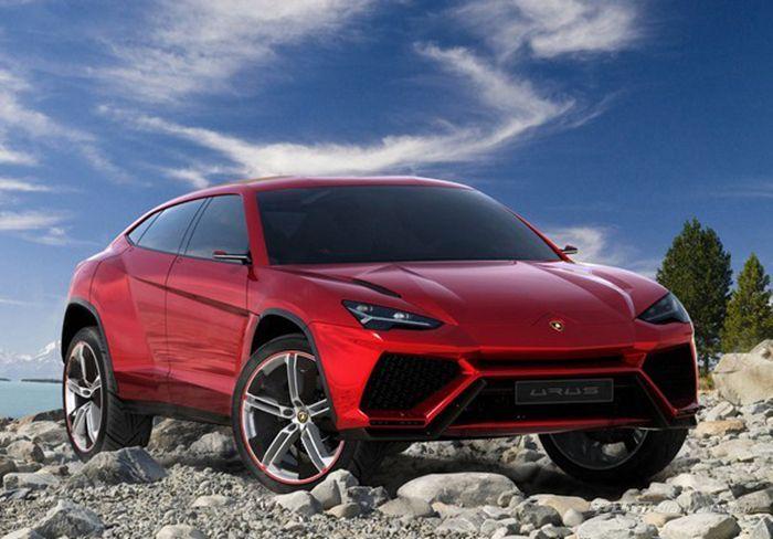 兰博基尼Urus概念SUV (3)
