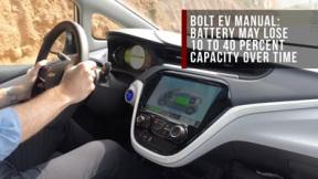 雪佛兰Bolt EV电池容量