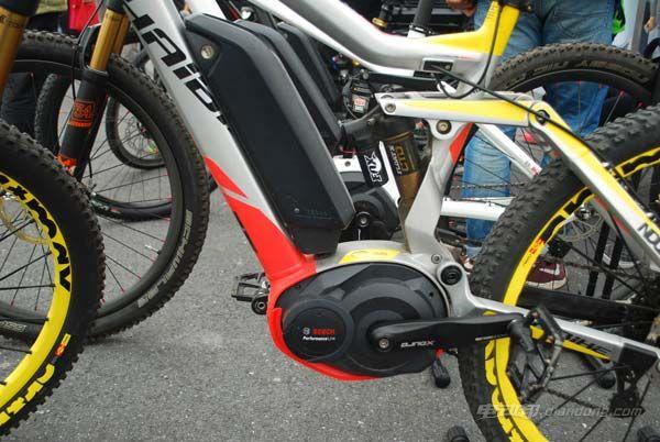 博世电动自行车的电驱系统