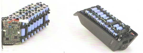 博世电动自行车中的电池