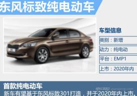 东风标致预推出301纯电动版电动汽车