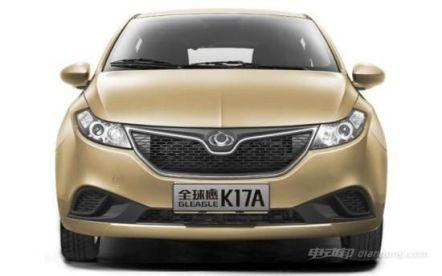 电动汽车全球鹰K17A超强续航和超高性价比