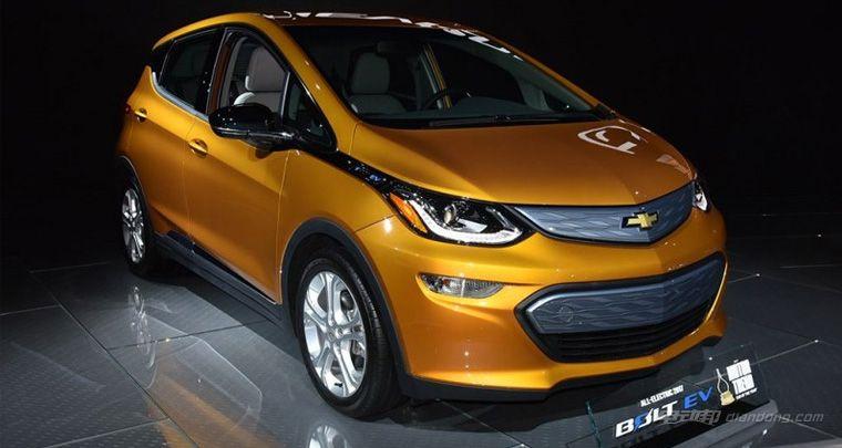 基于Bolt打造 雪佛兰将推出纯电动SUV车型