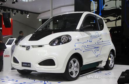 众泰知豆E20电动汽车车型介绍