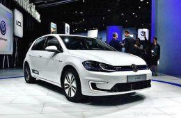 大众e-Golf成为大众首款国产新能源车
