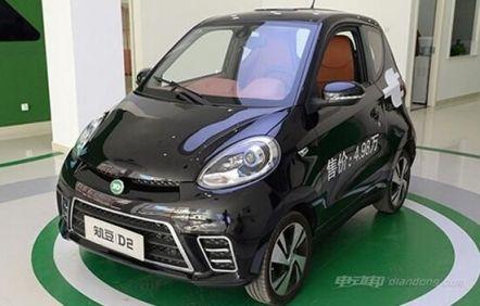 2款5万元左右纯电动汽车车型推荐