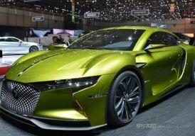 DS将推出E-Tense概念车电动跑车