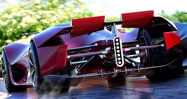 dendrobium电动超跑的车身结构使用了f1赛车复合技术