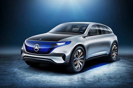 奔驰 Generation EQ 新能源汽车