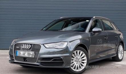 新款奥迪A3混动版汽车的图片和车型介绍