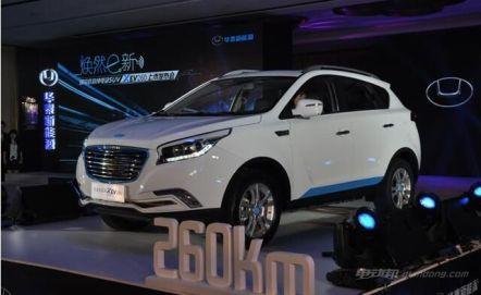 华泰XEV260尺寸及车型介绍