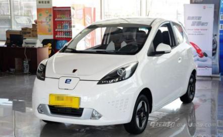 荣威E50微型电动汽车多少钱?