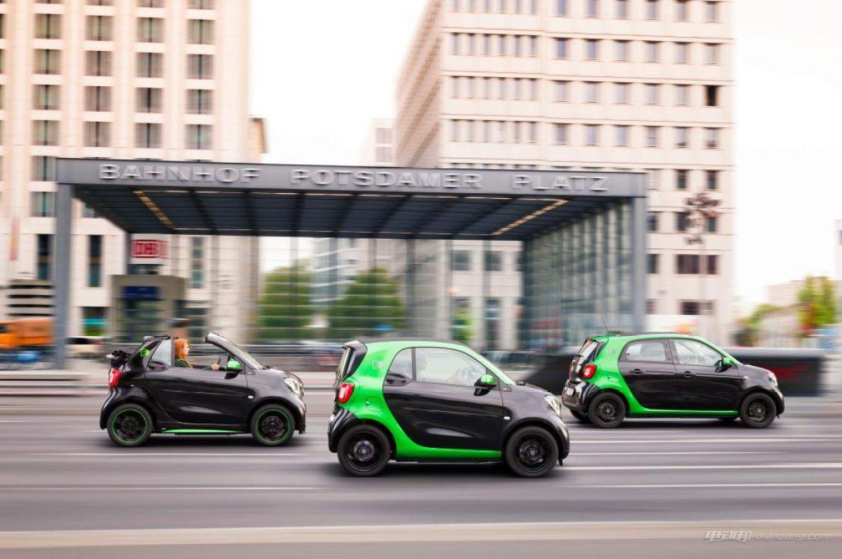 燃油版Smart或成绝唱 北美新款全线换成电动