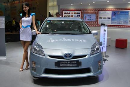 搭载太阳能发电驱动电机 丰田普锐斯日本上市