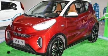 奇瑞eQ纯电动汽车图片及介绍