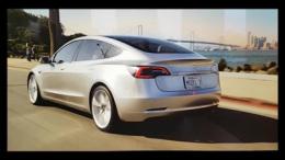 特斯拉Model 3全新预告片