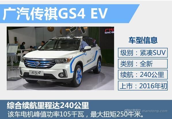 广汽传祺GS4EV纯电动