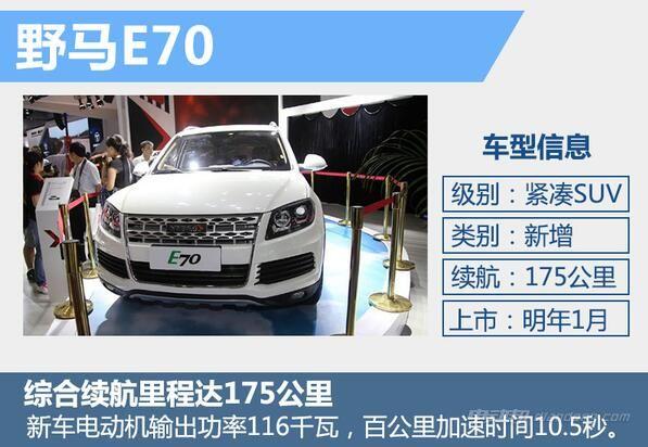 川汽野马T70EV电动汽车