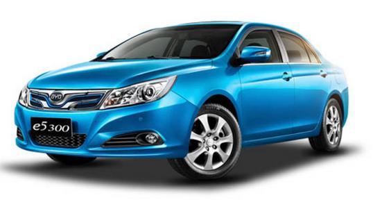 比亚迪新能源汽车车型推荐:比亚迪e5