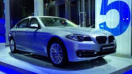 宝马5系插电式混合动力车价格及图片