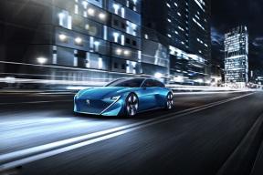 标致Instinct混合动力概念车将亮相日内瓦车展