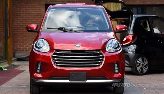知豆d2s电动汽车介绍:外观和内饰