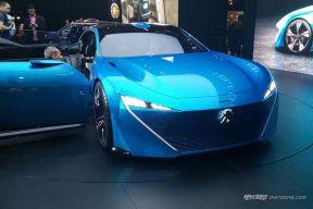 标致展出Instinct概念车 将搭自动驾驶系统