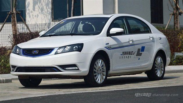 吉利帝豪EV300今日上市 补贴后或将13.98万起售
