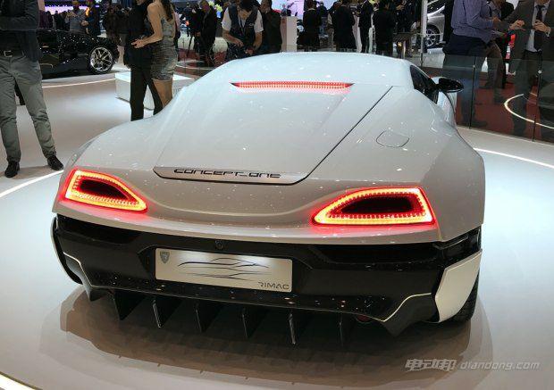 克罗地亚品牌Rimac新款Concept One发布