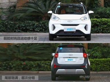 微型电动汽车奇瑞EQ1价格是多少?车型介绍