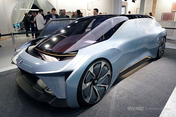 上海车展量产车型亮相 蔚来发布EVE概念车