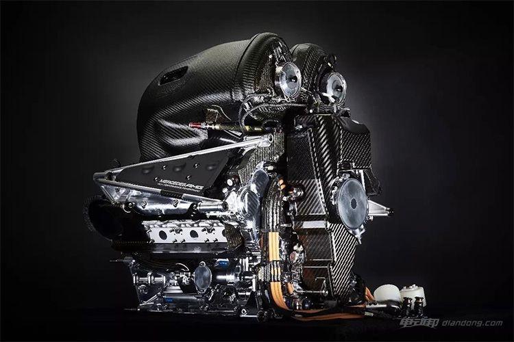 ▲ 梅赛德斯-AMG Project One搭载的1.6T发动机