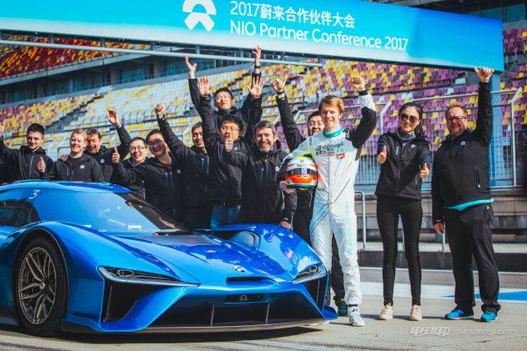 蔚来汽车EP9打破上海赛车场单圈记录 上海车展正式亮相