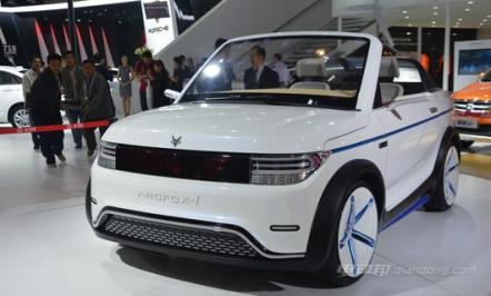 北汽ARCFOX-1概念车车型介绍