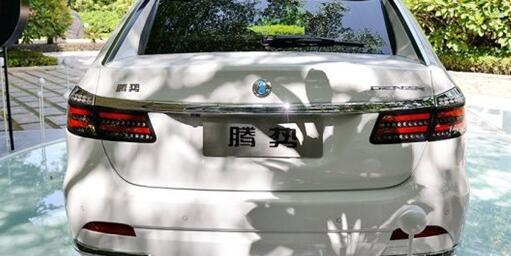 电动汽车腾势尾部