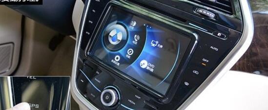 电动汽车腾势显示屏