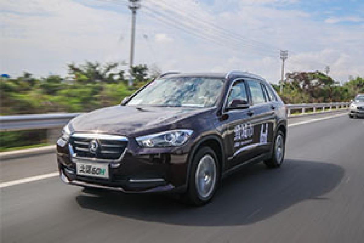 试驾之诺60H插电混动SUV 新能源路上新开始