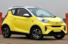 补贴后4.98万起售 奇瑞eQ1纯电动车正式上市