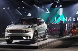 吉利LYNK&CO首款量产SUV将在上海车展亮相