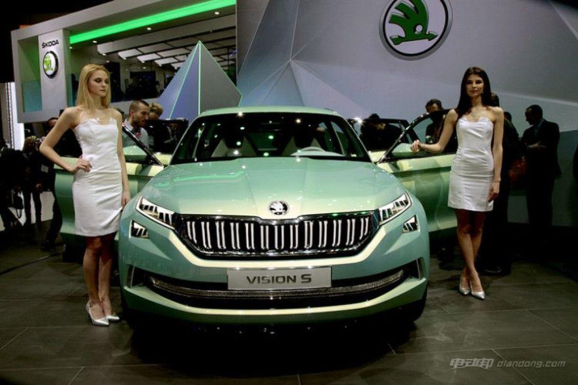 斯柯达首款纯电动概念车将亮相上海车展