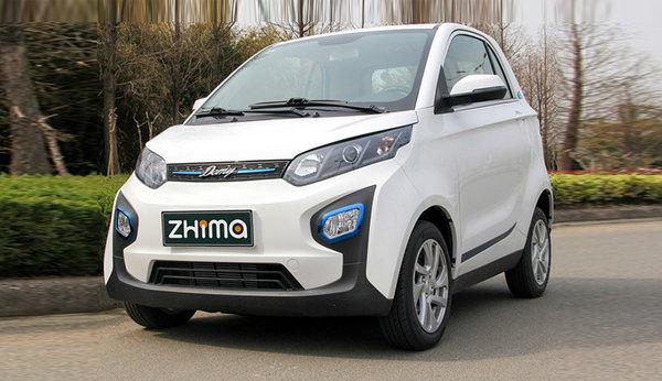 最便宜的电动汽车_定位小型纯电动SUV,北汽广州车展首发EX3,外观炸眼续