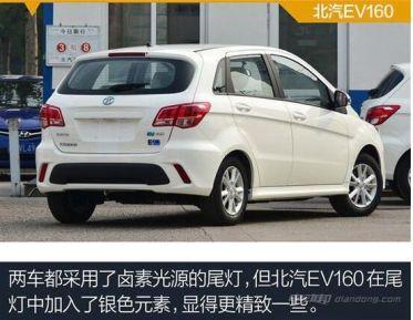 北汽EV160与江淮iEV4那个更好?