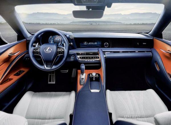 雷克萨斯LC 500h全新混合动力汽车--内饰