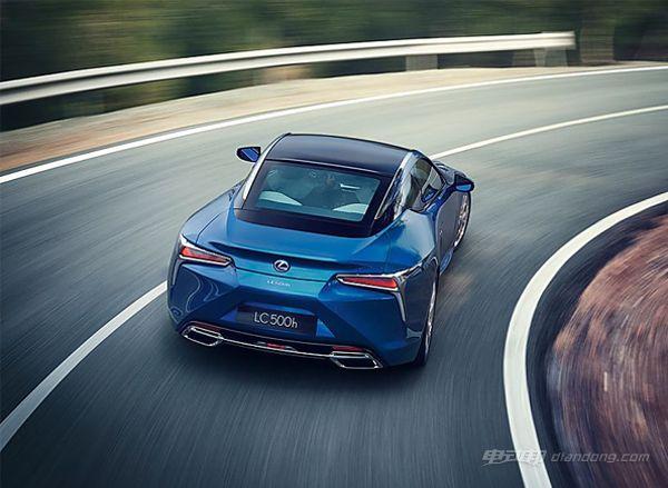雷克萨斯LC 500h全新混合动力汽车--动力
