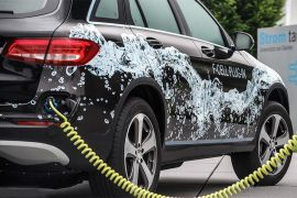 主推纯电动  奔驰氢燃料电池汽车不再是重点