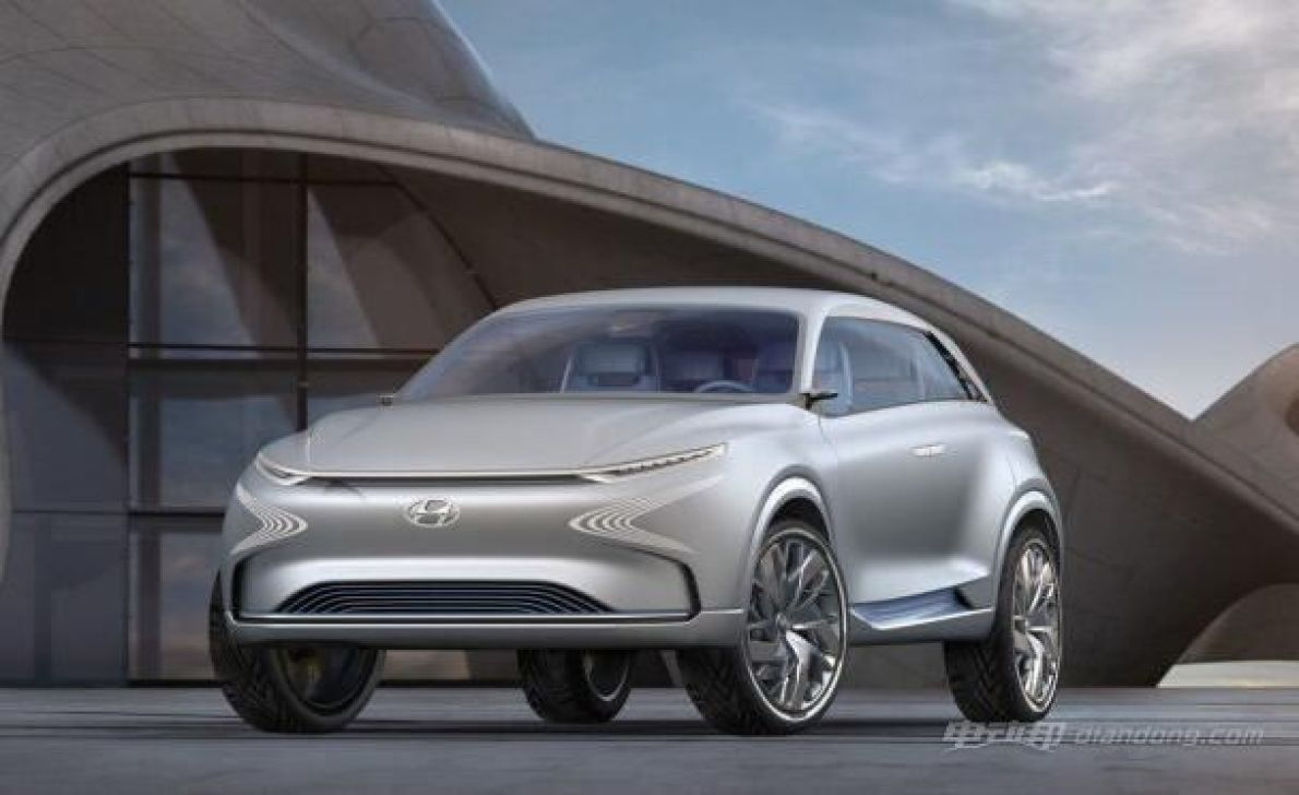 现代推FE氢燃料电池SUV 续航里程高达800km