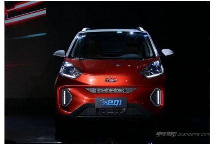 奇瑞eQ1电动汽车怎么样?图片