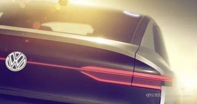 大众I.D.概念车预告图 风骚的纯电动跨界SUV